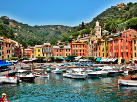 The charming village of Portofino