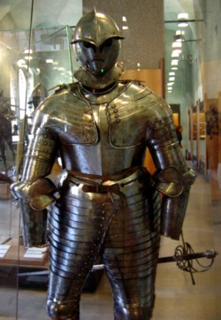 Armor in the Sforza Castle