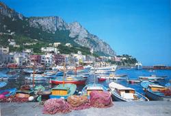 Marina Grande of Capri