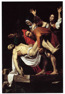 <b>Deposition by Caravaggio in the Vatican Museums</b>