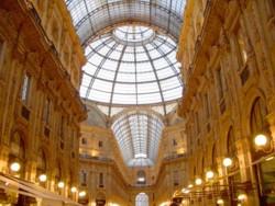 Galleria Vittorio Emanuele II by night