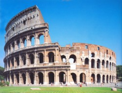 <b>The Colosseum, symbol of Rome</b>