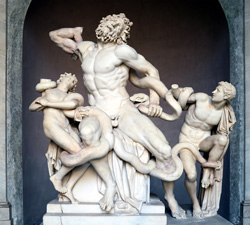 <b>Laocoon and his sons in the Vatican Museums</b>