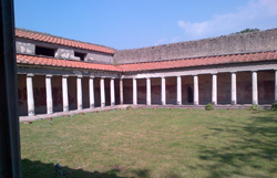 Oplontis-Herculaneum-Pompeii tour with TREDYTOURS: A nice colonnade of the villa of Oplontis