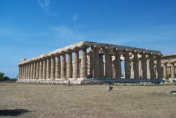 <b>Paestum, the so-called Basilica</b>
