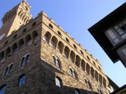 <b>The Old Palace in the Piazza della Signoria</b>