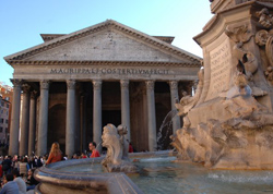 <b>Pantheon, one of the symbols of Rome</b>