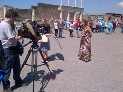 <b>Pompeii is famous all over the world</b>