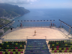 <b>Villa Rufolo at Ravello on the Amalfi Coast</b>