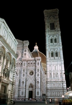 <b>The Cathedral of Santa Maria del Fiore <br>and Giotto's Bell Tower</b>