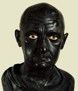 <b>Bronze statue of Scipio the African</b>