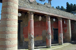House of Telephus in Herculaneum
