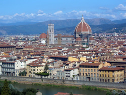 <b>Vista panoramica di Firenze</b>