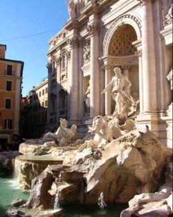 <b>The Trevi Fountain</b>