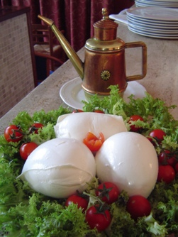 <b> The famous buffalo's mozzarella</b>