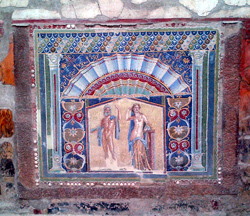 Mosaic with Neptune and Amphitrite