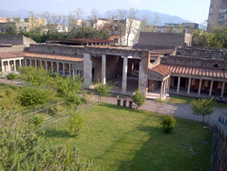 <b>General view of Oplontis at Torre Annunziata </b>