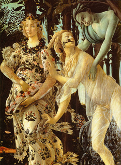 <b>Detail of The Spring by Botticelli</b>