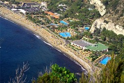 <b>Aerial view of Thermal bath Poseidon at Ischia</b>