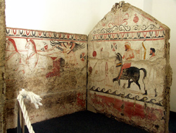 <b>Samnite Tomb from the Paestum Museum</b>
