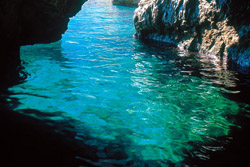<b>Torquoise colour of the sea of Capri</b>