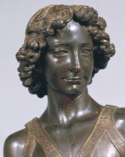 <b>David by Verrocchio in the Bargello Museum</b>