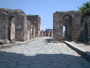 Pompeii/Sorrento/Positano tour with TREDYTOURS: Herculaneum Gate in Pompeii