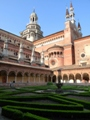The Certosa di Pavia as seen from the Small Cloister