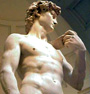  Statue representing David by Michelangelo