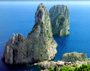  Capri tour with TREDYTOURS: The southern coast of Capri with the Faraglioni Rocks