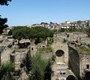 The bird's eye view of Herculaneum ruins