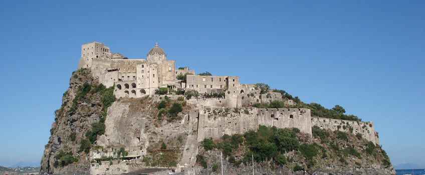 The Aragonese castle of Ischia